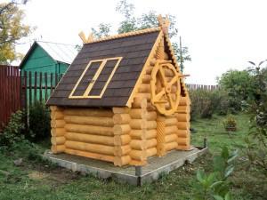 Домик для колодца в Можайском районе